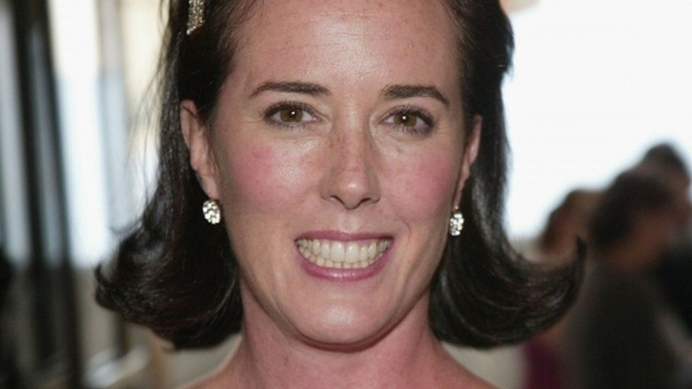 Kate Spade pictured at CFDA Fashion Awards in New York in June 2004
