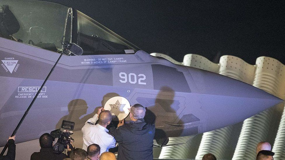 F-35 stealth fighter bought by Israel from the US