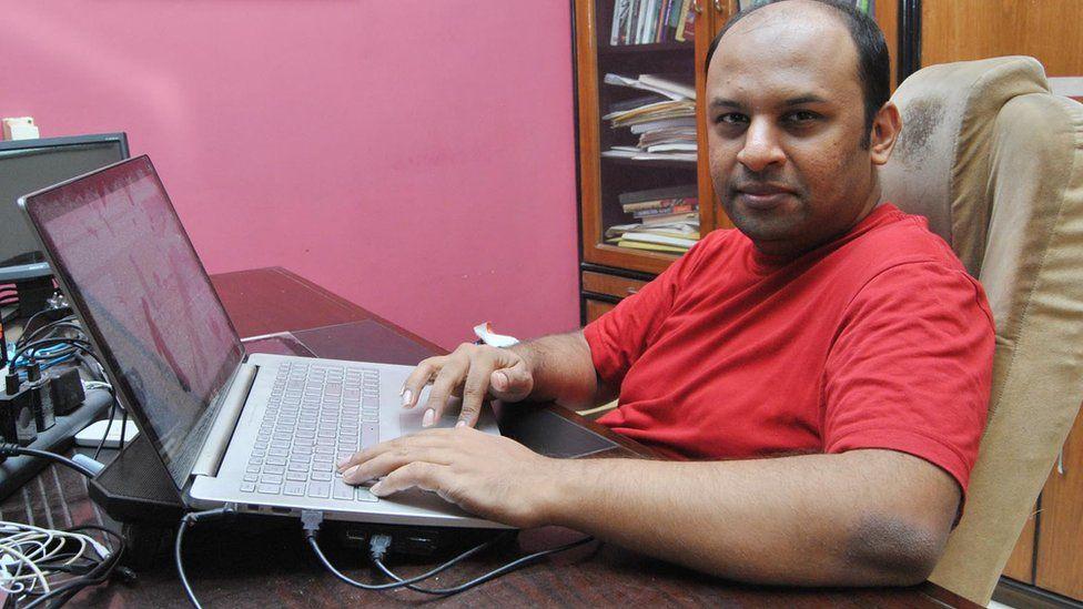 Pratik Sinha is the founder of Alt News