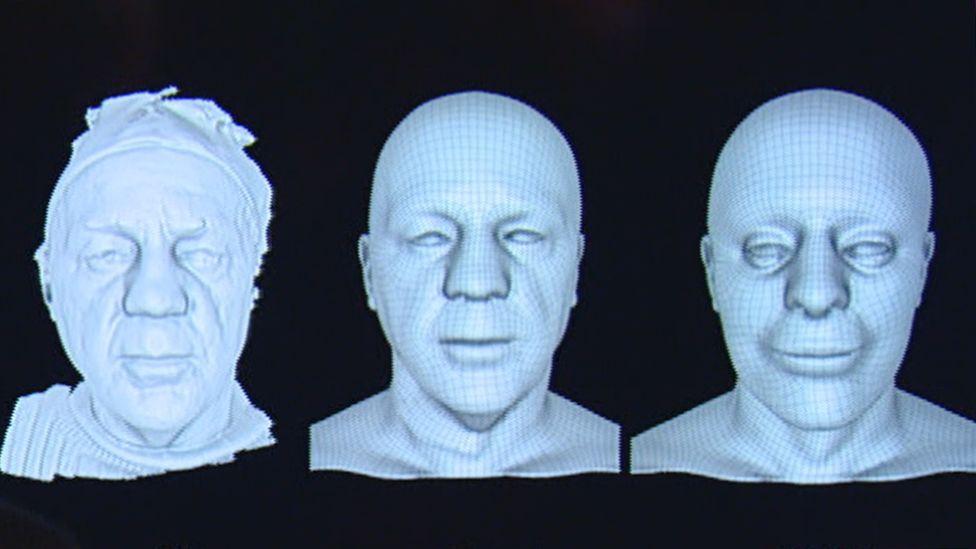 3D models of Robert Burns