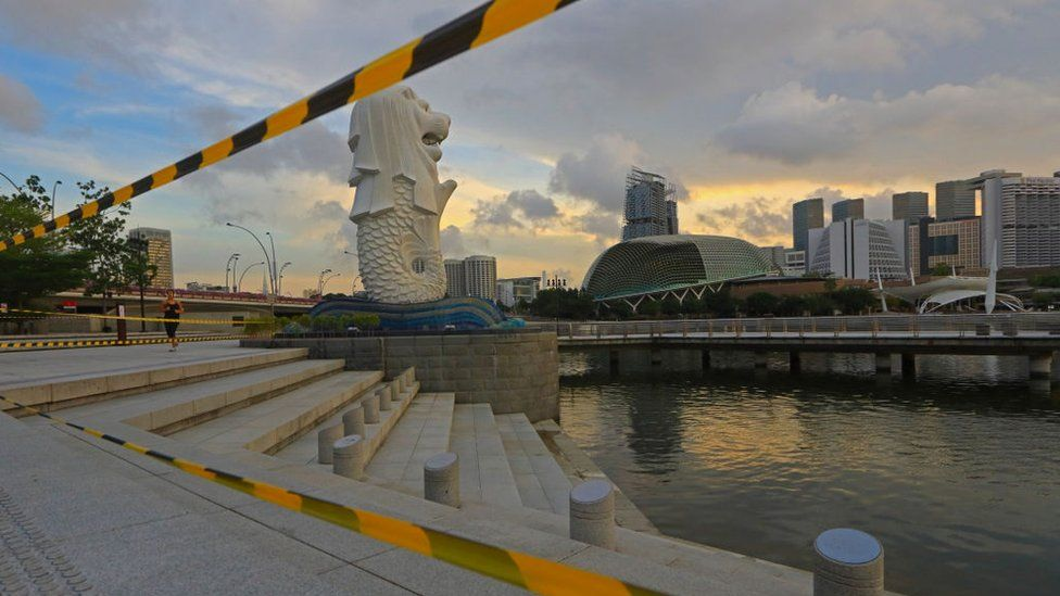 Daily Life In Singapore Amid The Coronavirus Pandemic