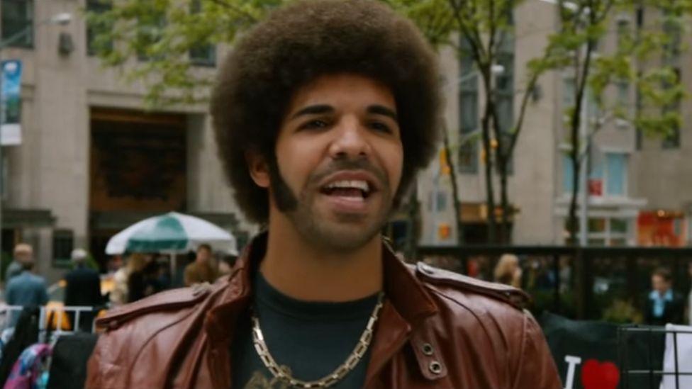 Drake in Anchorman 2