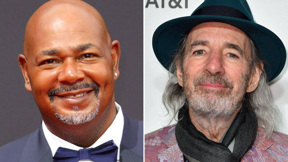 Kevin Michael Richardson (left) and Harry Shearer