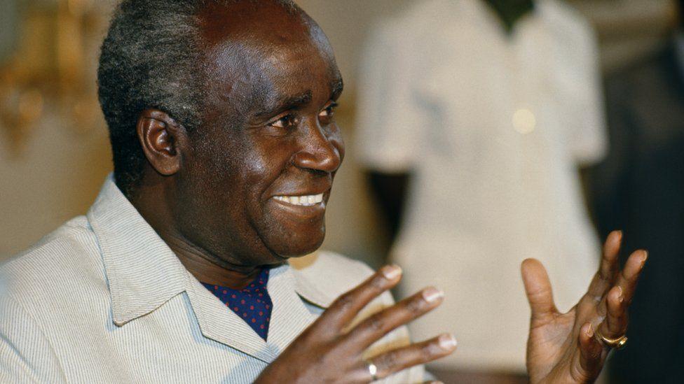 Kenneth Kaunda, Zambia's founding president