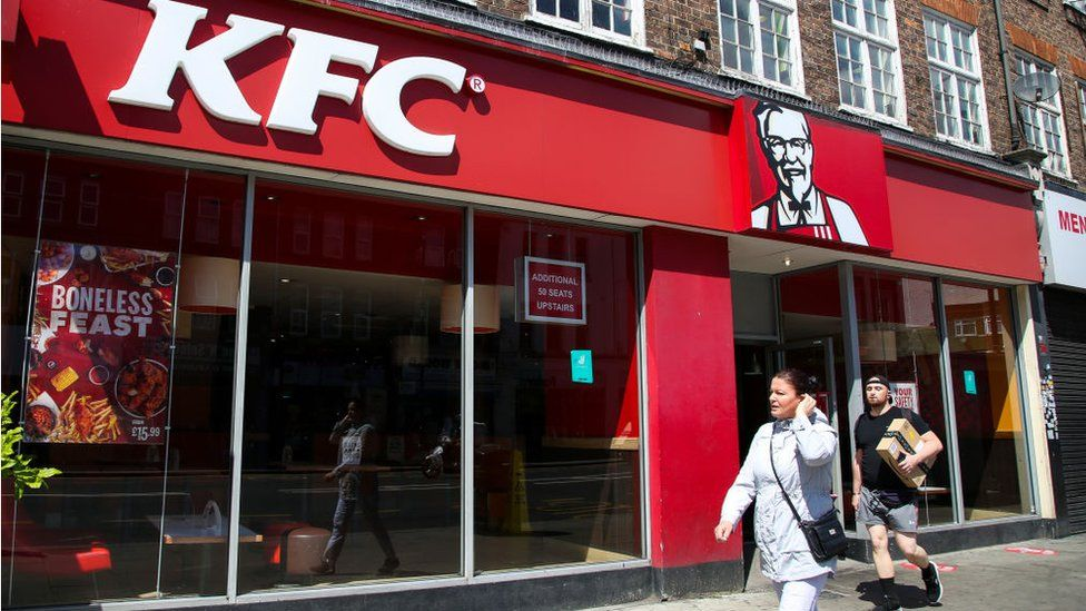 KFC outlet in London