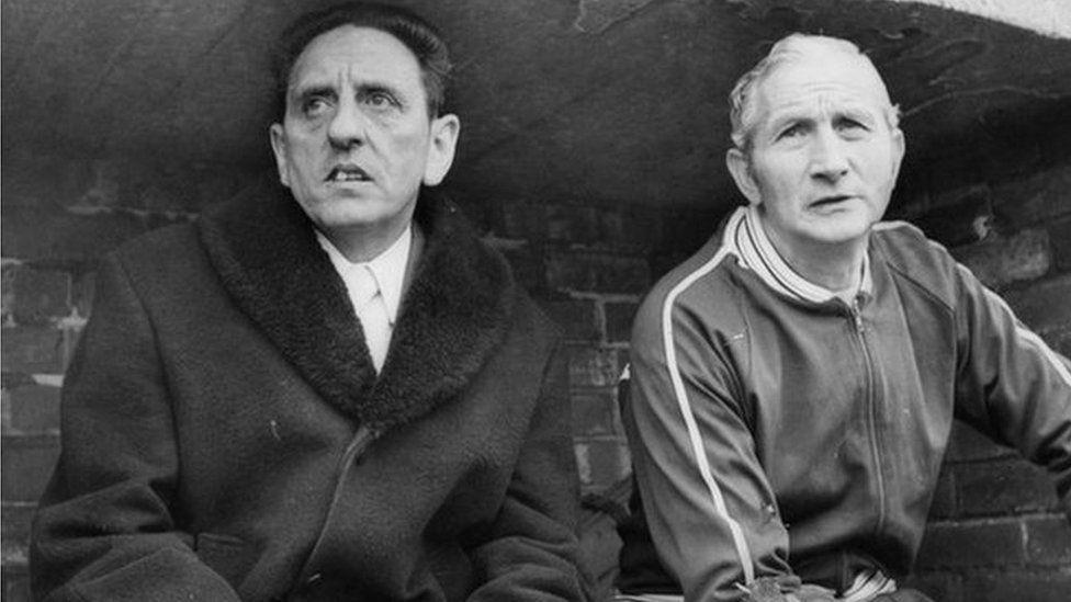 Jimmy Sirrel and Jack Wheeler