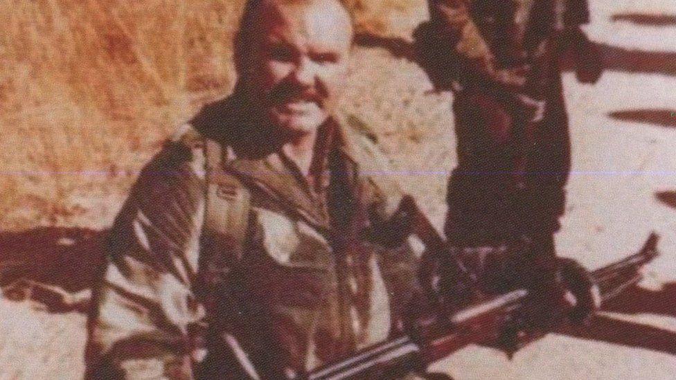 Peter in the Rhodesian SAS
