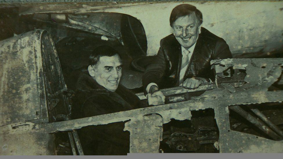 Peter Lock and Seamus Kane