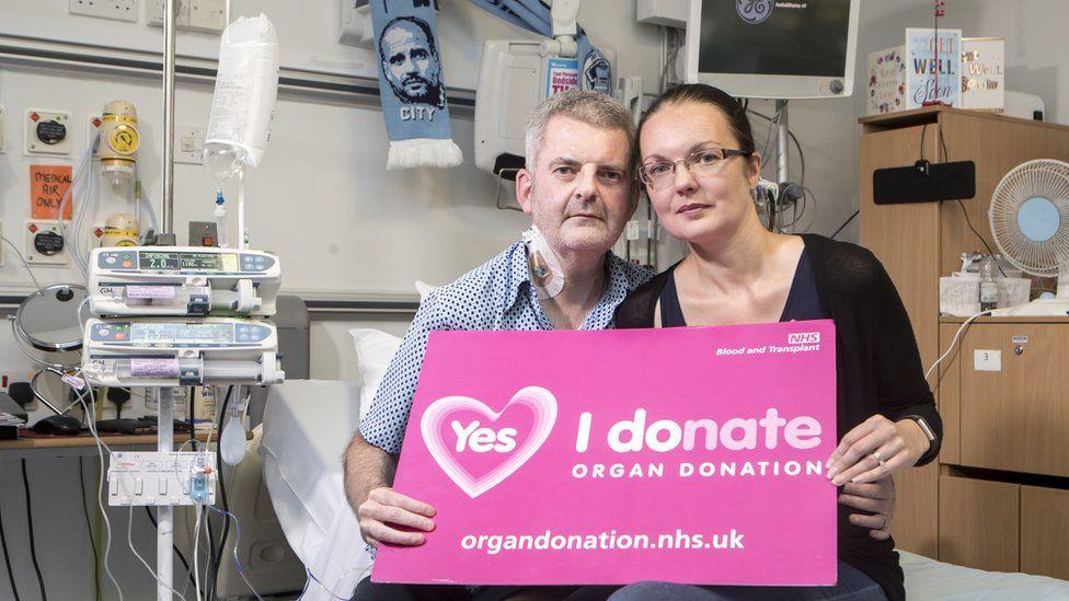 Gareth and his wife Danielle