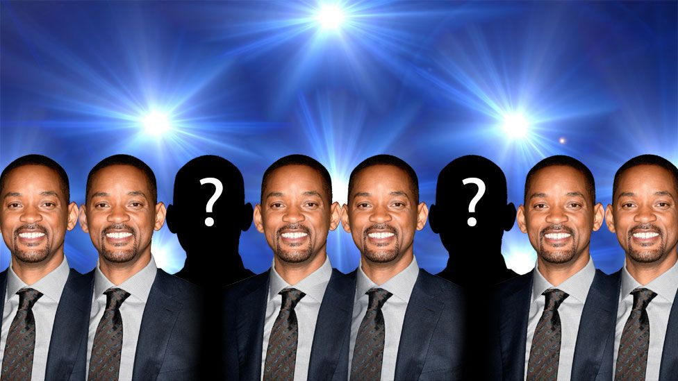 Several images of Will Smith