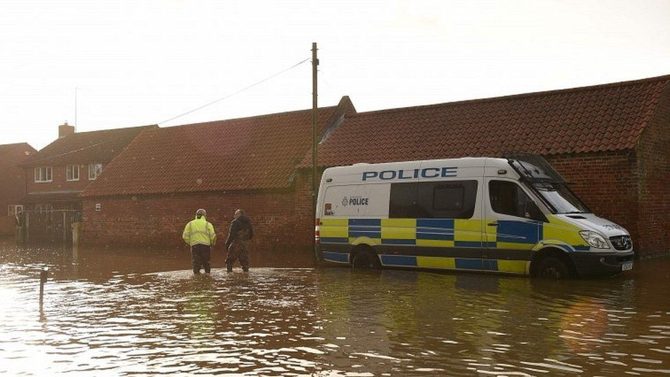 Cobra to meet over northern England floods