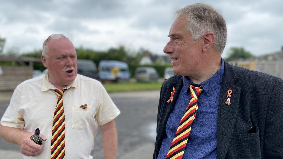 Stephen Nicholls and Richard Warwick
