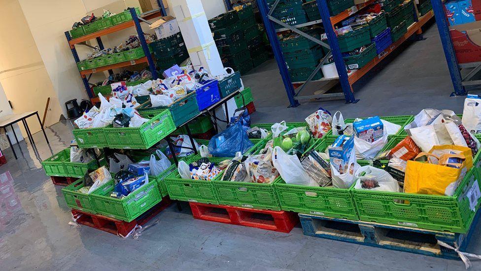 Burnley foodbank
