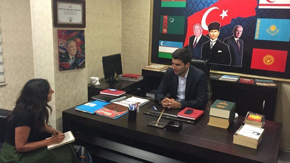 Grey Wolves Istanbul head Ahmet Yiğit Yıldırım