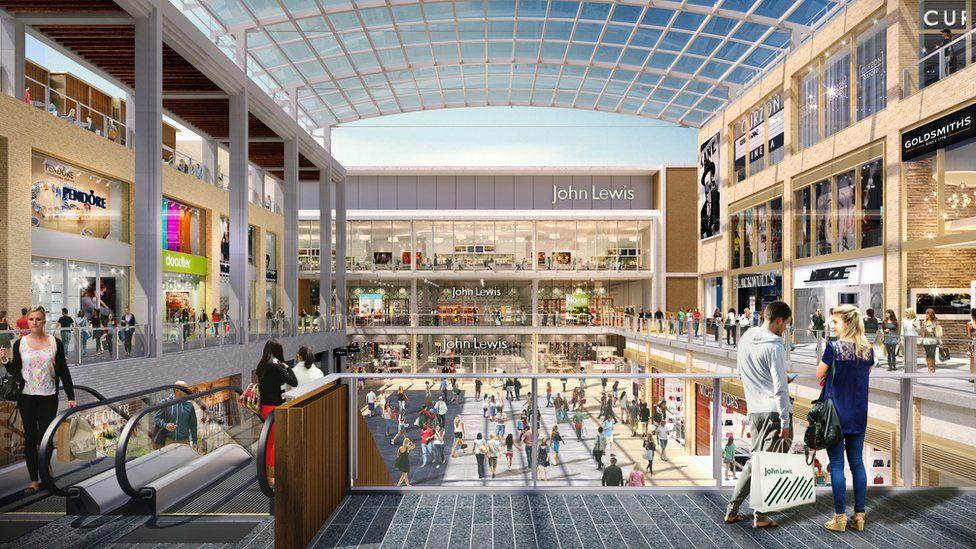 New Westgate Centre interior