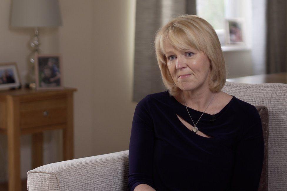Lesley Roberts at home