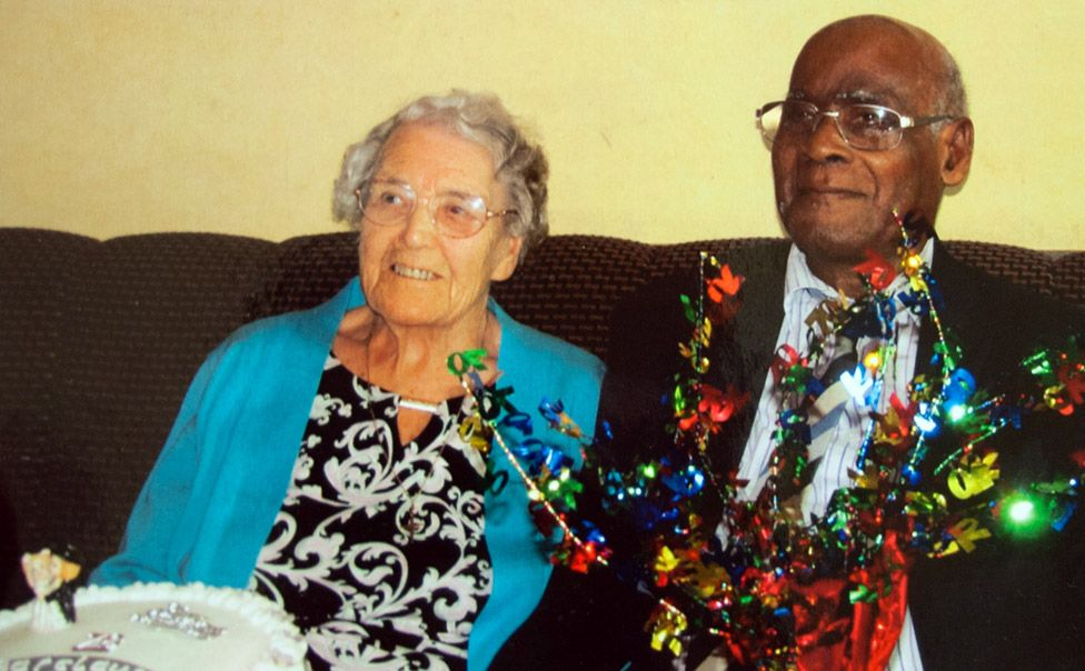 Trudy and Barclay celebrated their 70th wedding anniversary in September 2014