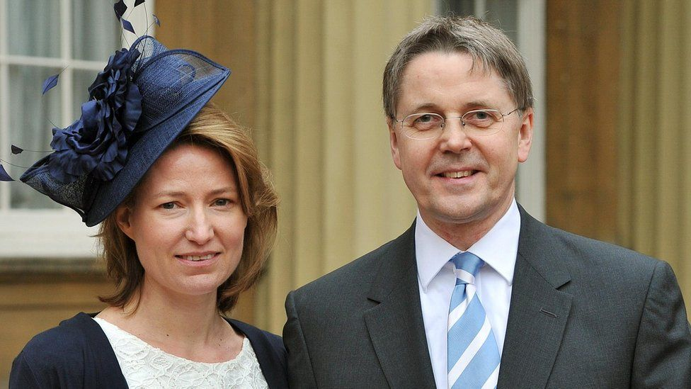 Suzanne and Jeremy Heywood