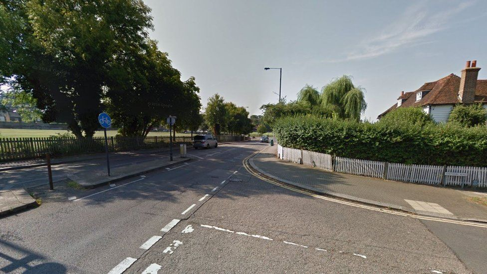 Bessborough Road at the junction with Whitmore Road in Harrow