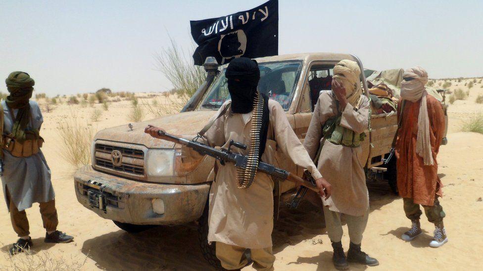 Ansar Dine militants seen in northern Mali - 2012