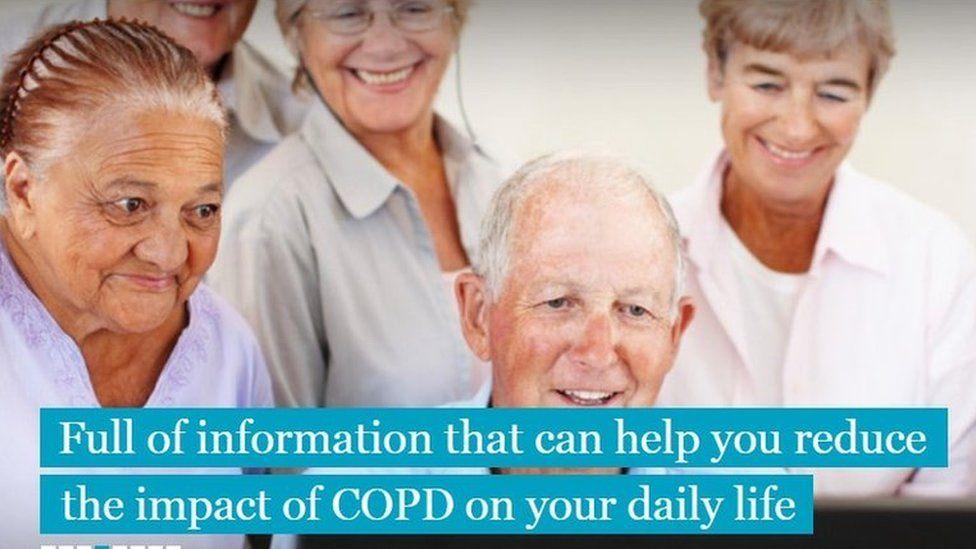COPD website screengrab