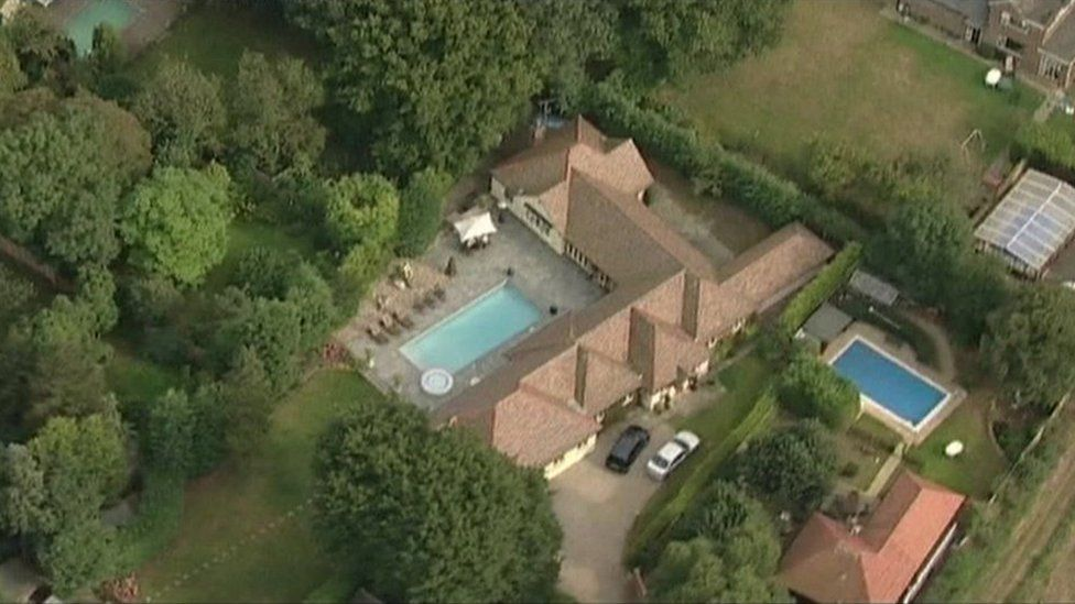Michael Barrymore's Essex home