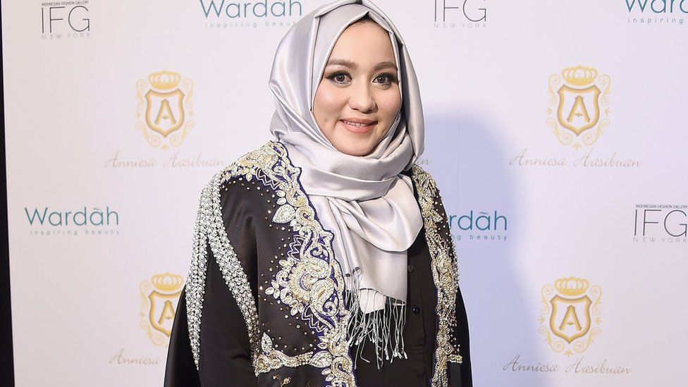 Fashion designer Anniesa Hasibuan
