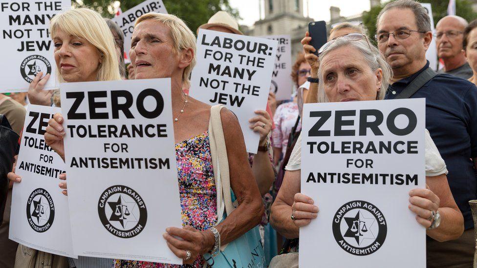 Anti-Semitism activists