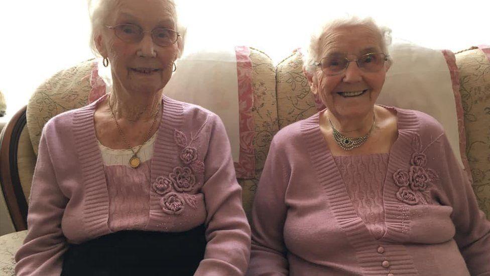 Irene Crump and Phyllis Jones
