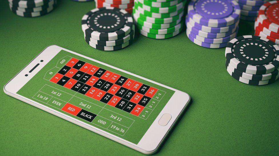Casino app on a Smartphone