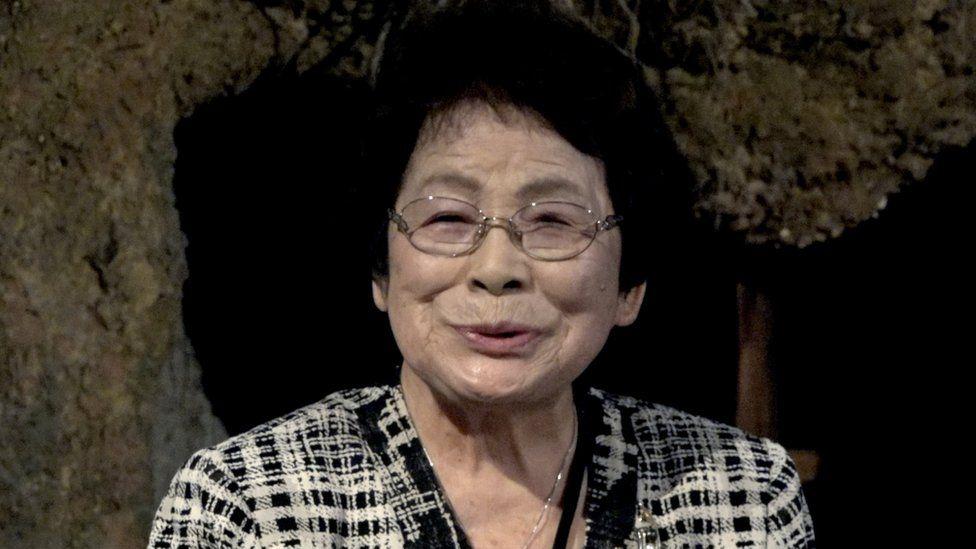 Bà Masako Nakazato, cựu nữ sinh Himeyuri, y tá trong trận Okinawa năm 1945