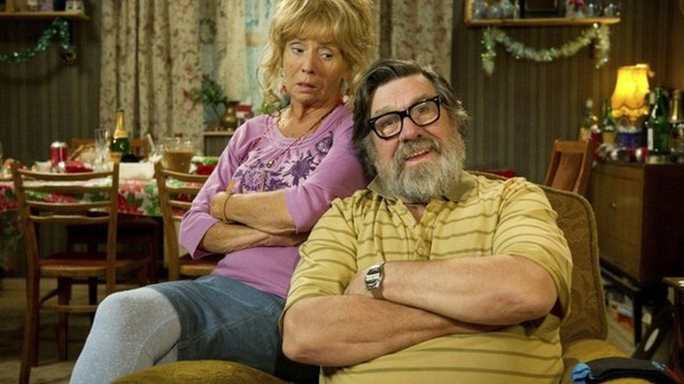 Ricky Tomlinson in the Royle Family