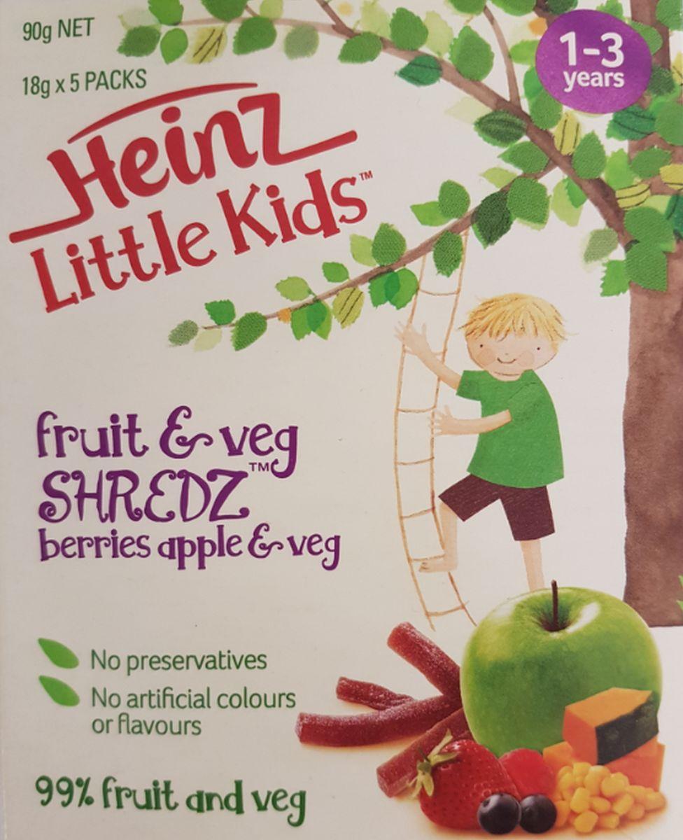 Packaging for Heinz food's Shredz