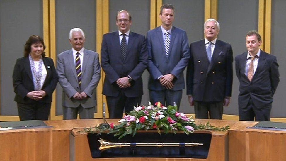 UKIP Welsh Assembly members sworn in