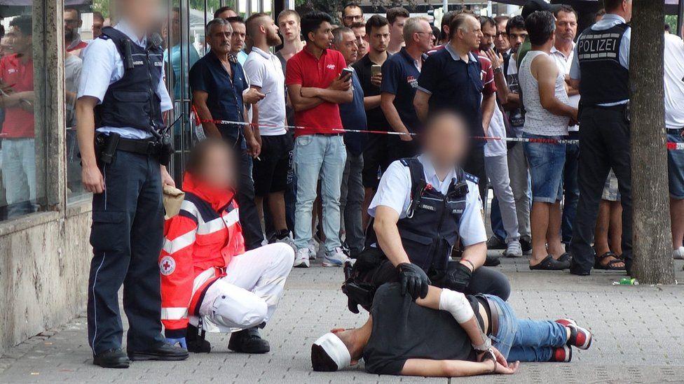 Police arrest Reutlingen attacker