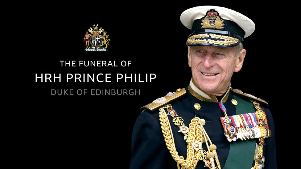 Prince Philip in full naval uniform