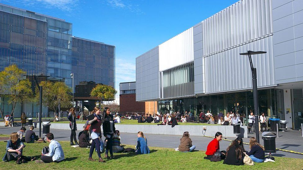 Students at the University of Sydney