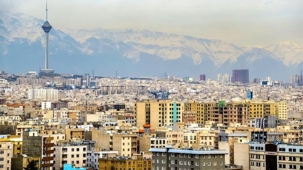 Tehran skyline (file photo)