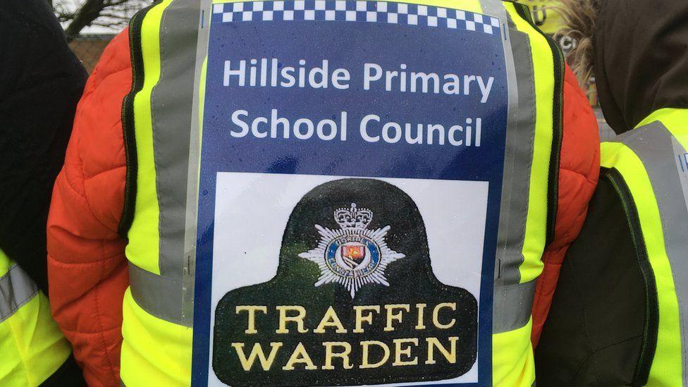Student traffic warden