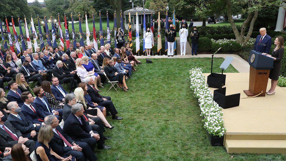 White House garden event