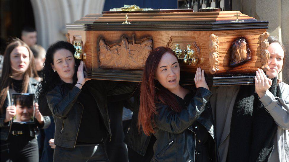 Ann McKernan's funeral