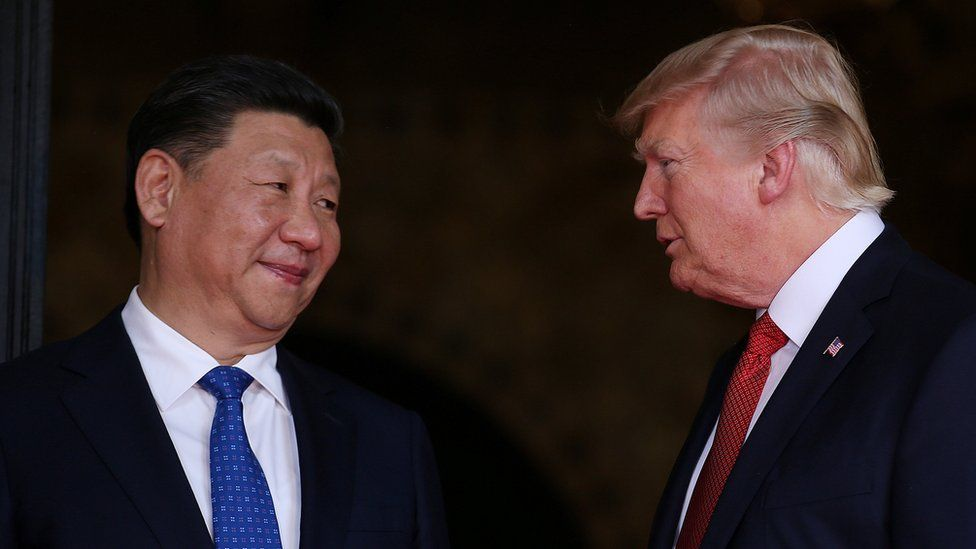 President Xi Jinping and President Donald Trump