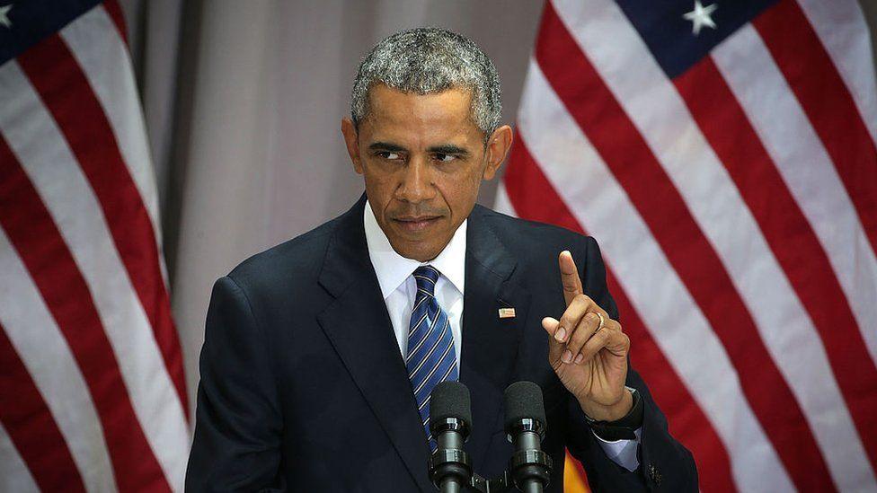Barack Obama in 2015