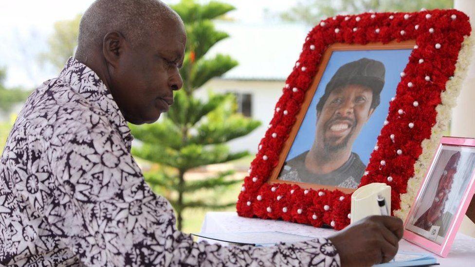 Kwa Picha: Mwili wa mwandishi Isaac Nyagabona Muyenjwa Gamba
