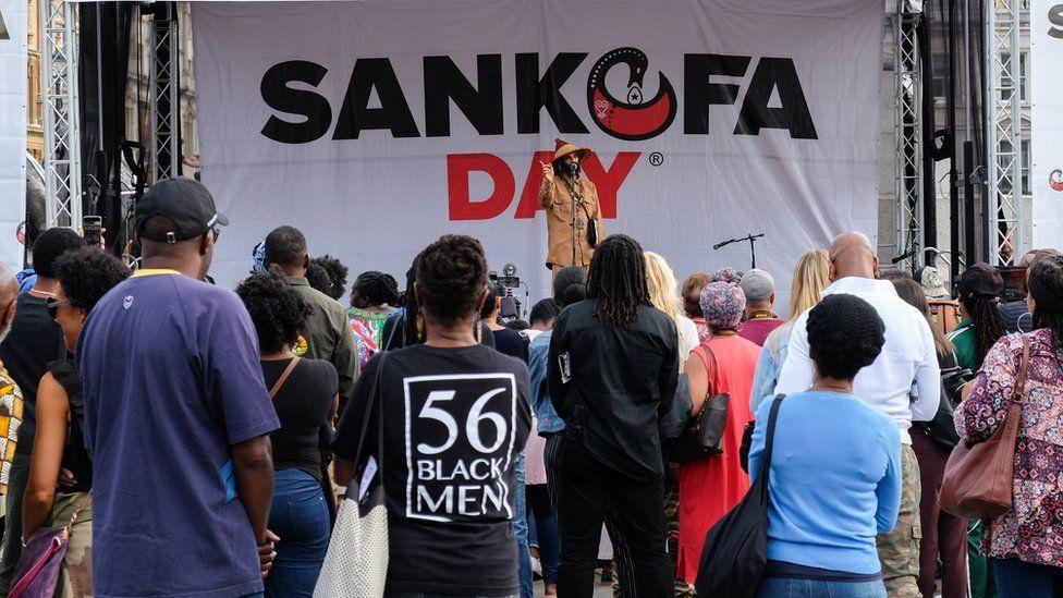 Sankofa Day in Trafalgar Square