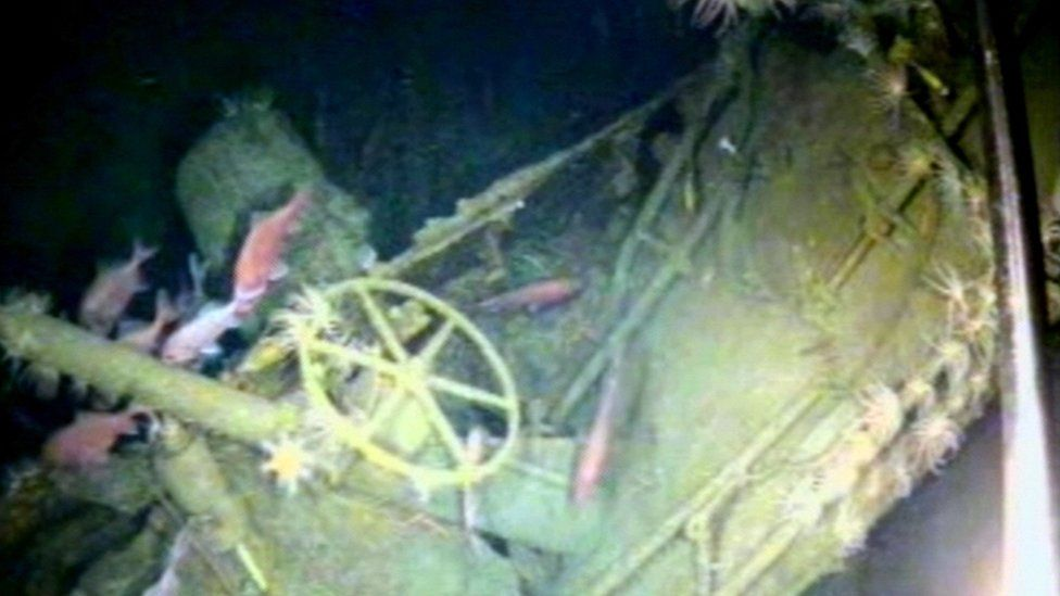 The HMAS AE-1 submarine