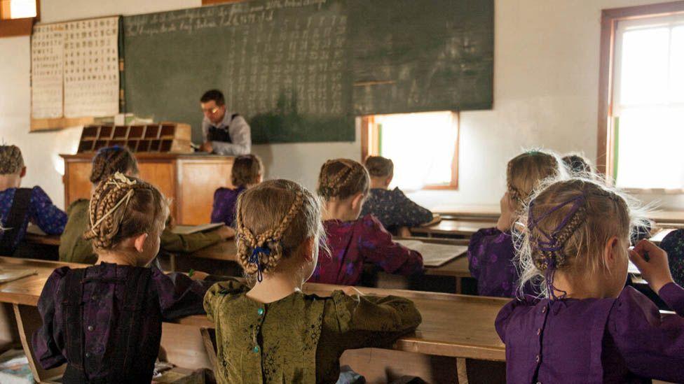 Mennonite school in Colonia Belize, Bolivia