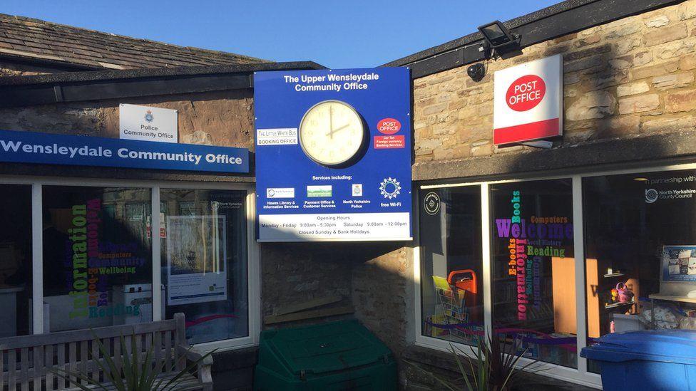 Upper Wensleydale Community Office in Hawes