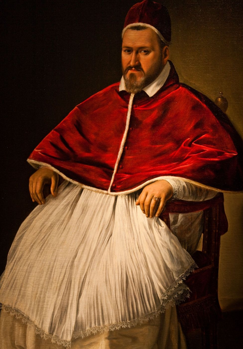 Caravaggio's portrait of Pope Paul V - made before the Pope sentenced him to death