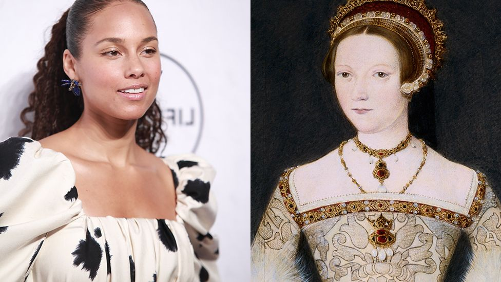 Alicia Keys and Catherine Parr
